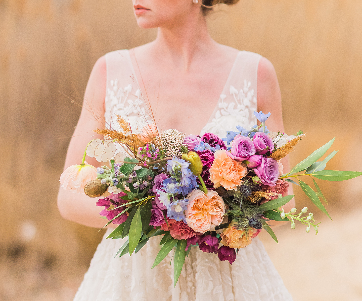Bridal Bouquet Inspiration for Spring: 12 of the Prettiest Bouquets We've Seen This Spring in Alberta and the Rockies - Therese Lopez Florals on The Bronte Bride