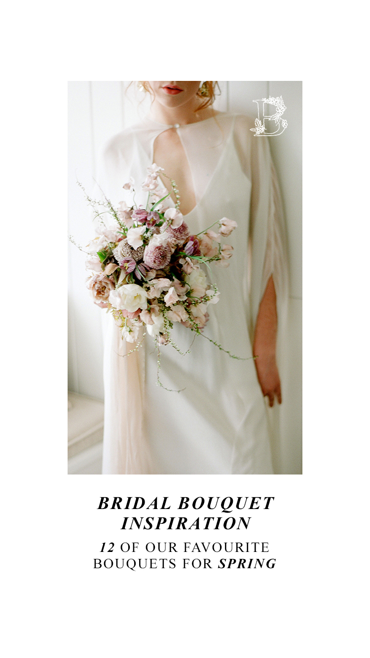 Bridal Bouquet Inspiration for Spring: 12 of the Prettiest Bouquets We've Seen This Spring in Alberta and the Rockies - on the Bronte Bride Blog