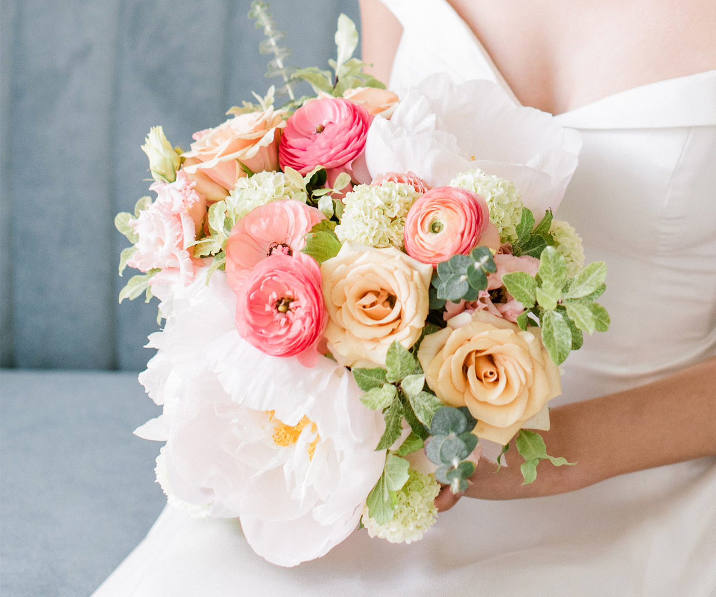Bridal Bouquet Inspiration for Spring: 12 of the Prettiest Bouquets We've Seen This Spring in Alberta and the Rockies - Flowers by Janie on The Bronte Bride
