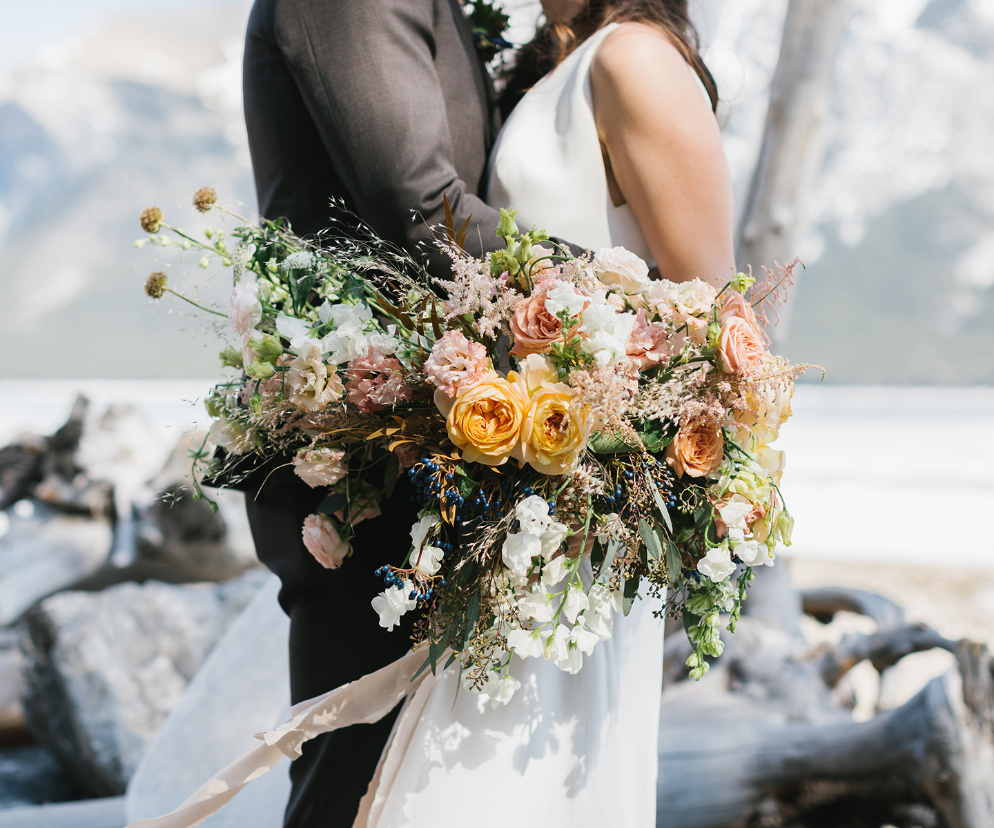 Bridal Bouquet Inspiration for Spring: 12 of the Prettiest Bouquets We've Seen This Spring in Alberta and the Rockies - Always Sunny on The Bronte Bride