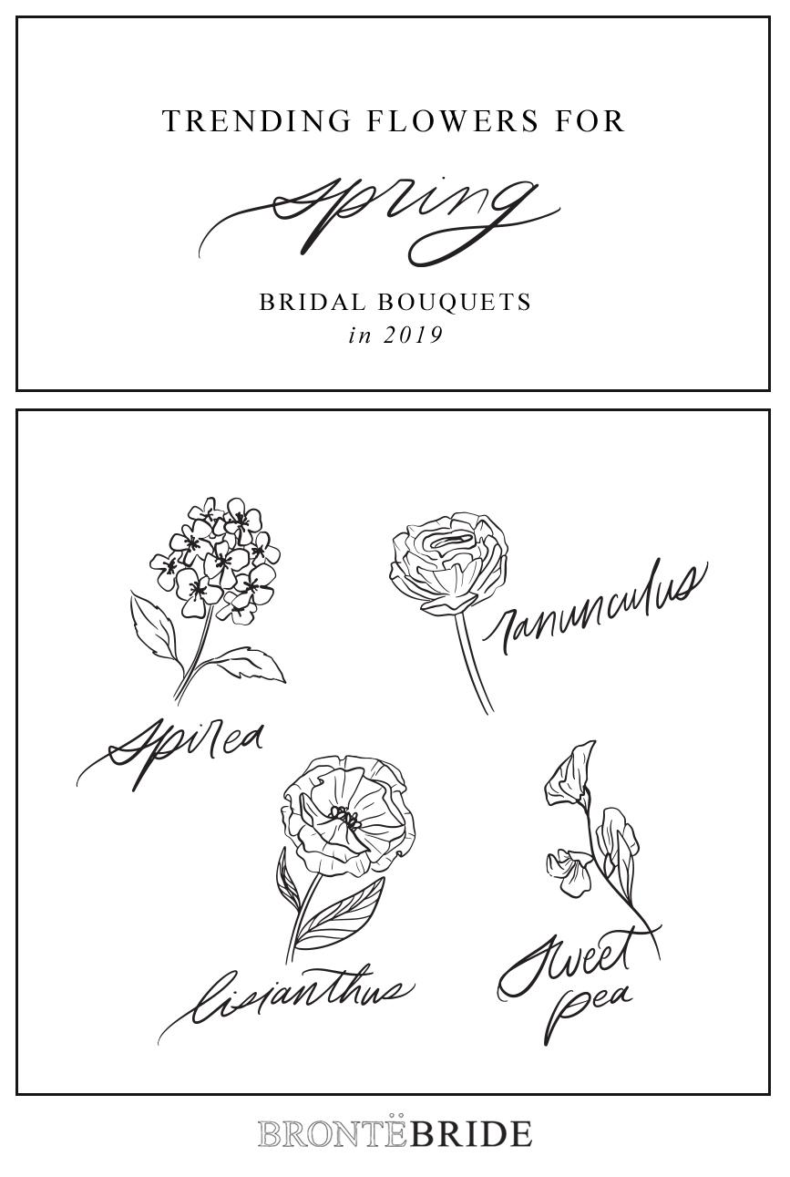 On the Bronte Bride Blog - Trending Flowers for Spring