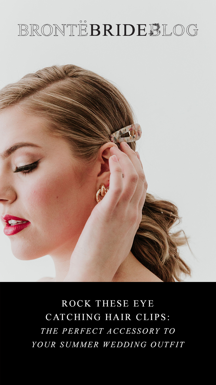 Rock These Eye-Catching Hair Clips: The Perfect Accessory to Your Summer Wedding Outfit