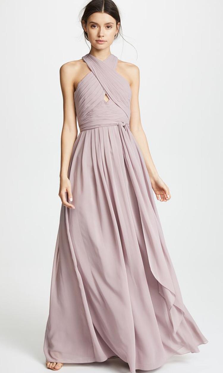 shop kollette - Elegant Bridesmaid's Dresses in lavender, dusty purple, and lilac tones.