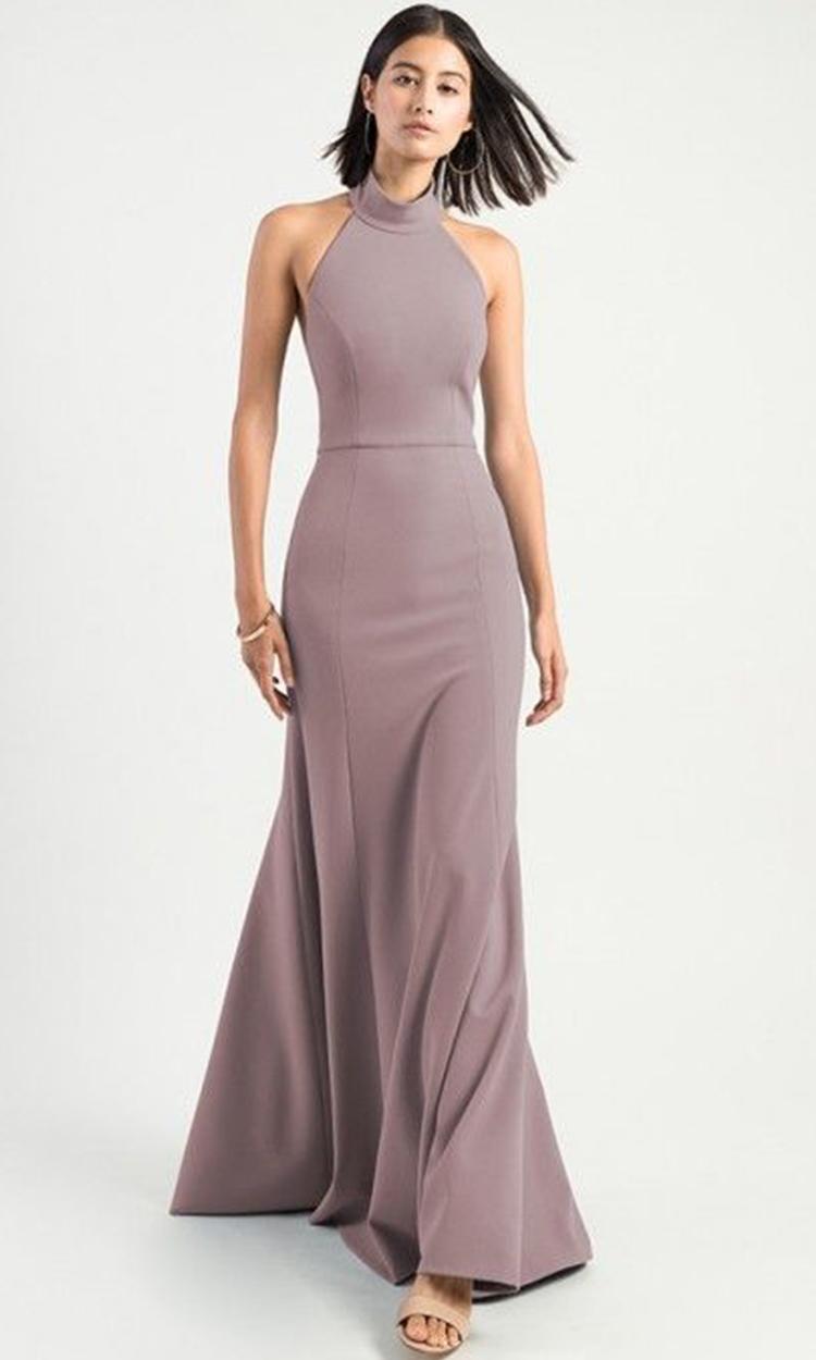shop jenny yoo - Elegant Bridesmaid's Dresses in lavender, dusty purple, and lilac tones.