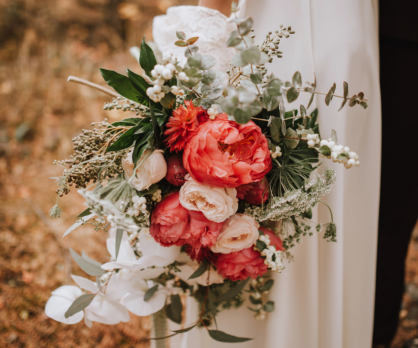 Bridal Bouquet Inspiration for Summer: 12 of the Prettiest Bouquets We've Seen This Summer in Alberta and the Rockies