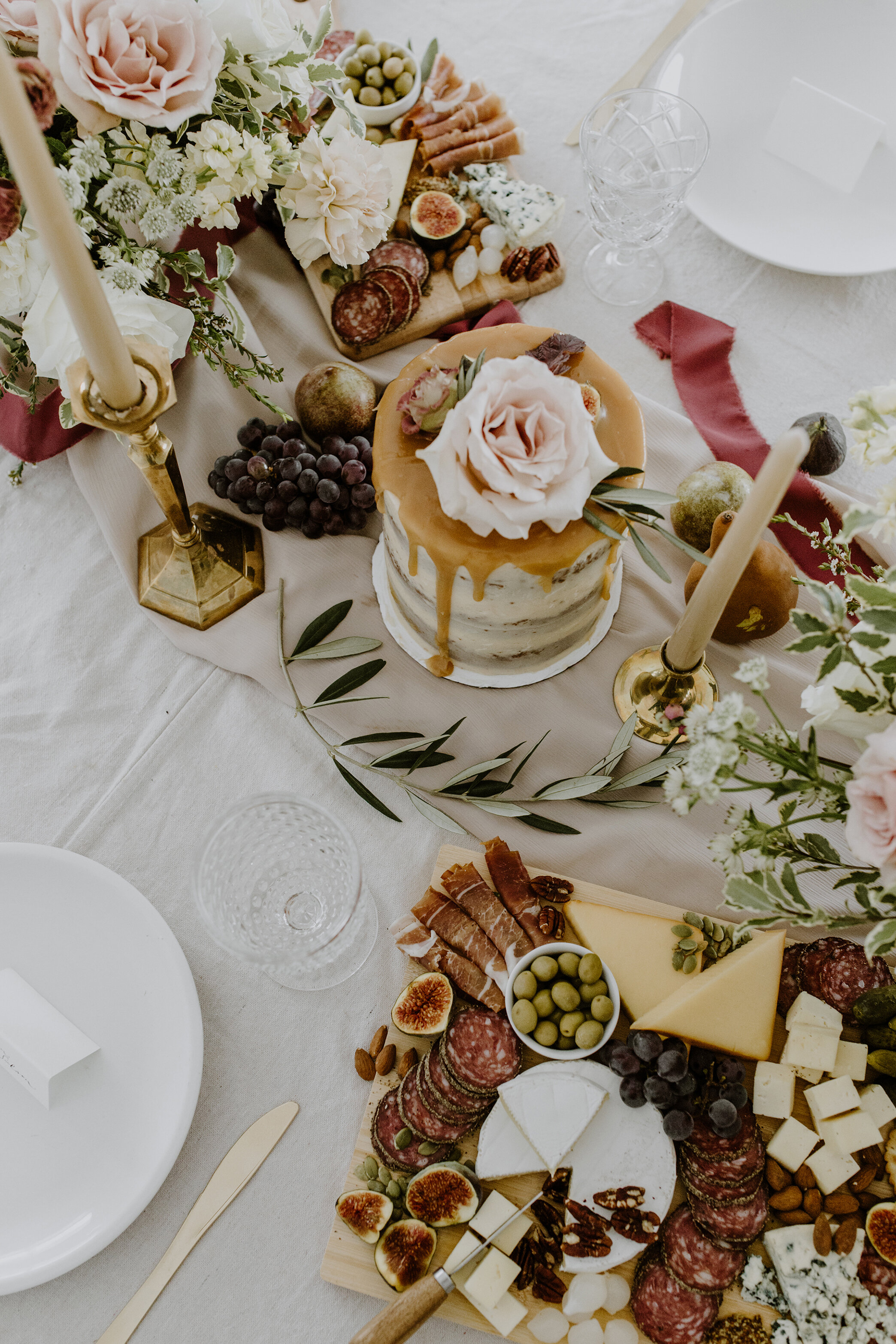 Old-World Romantic Styling Meets Warm Family-Style Gathering // Inspiration Shoot at Spruce Meadows