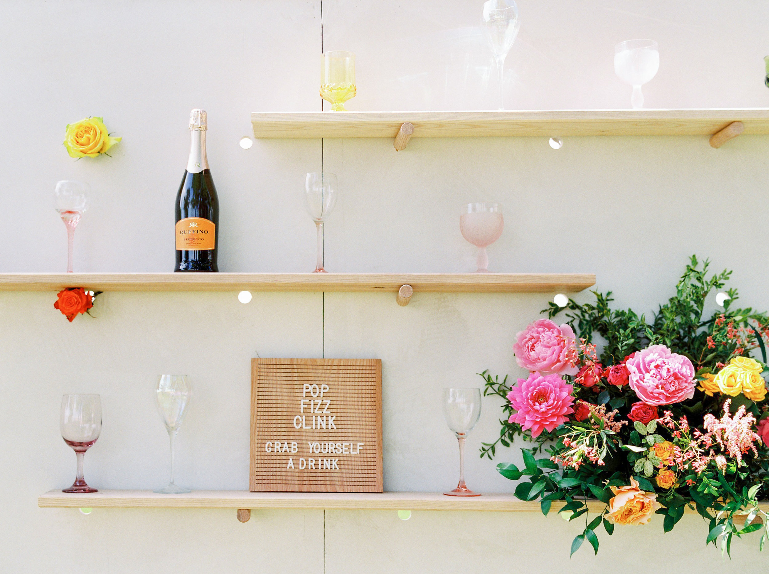 Farmhouse Chic: A Vibrant and Playful Wedding Inspiration Shoot at the Gathered - on the Bronte Bride Blog