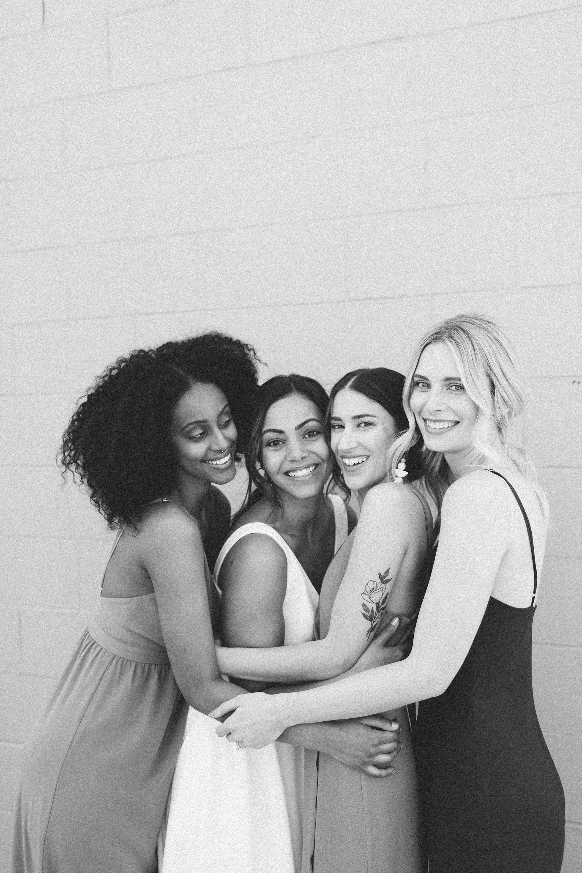 This All-Female Vendor Group Blew Us Away With Their Collaborative Vision // Inspiration at LoveNote Bride - on the Bronte Bride Blog