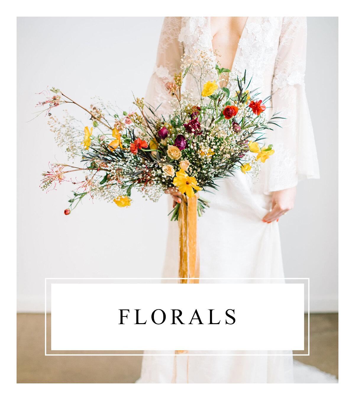 Bronte Bride - Alberta Wedding Vendor Guide - Florals