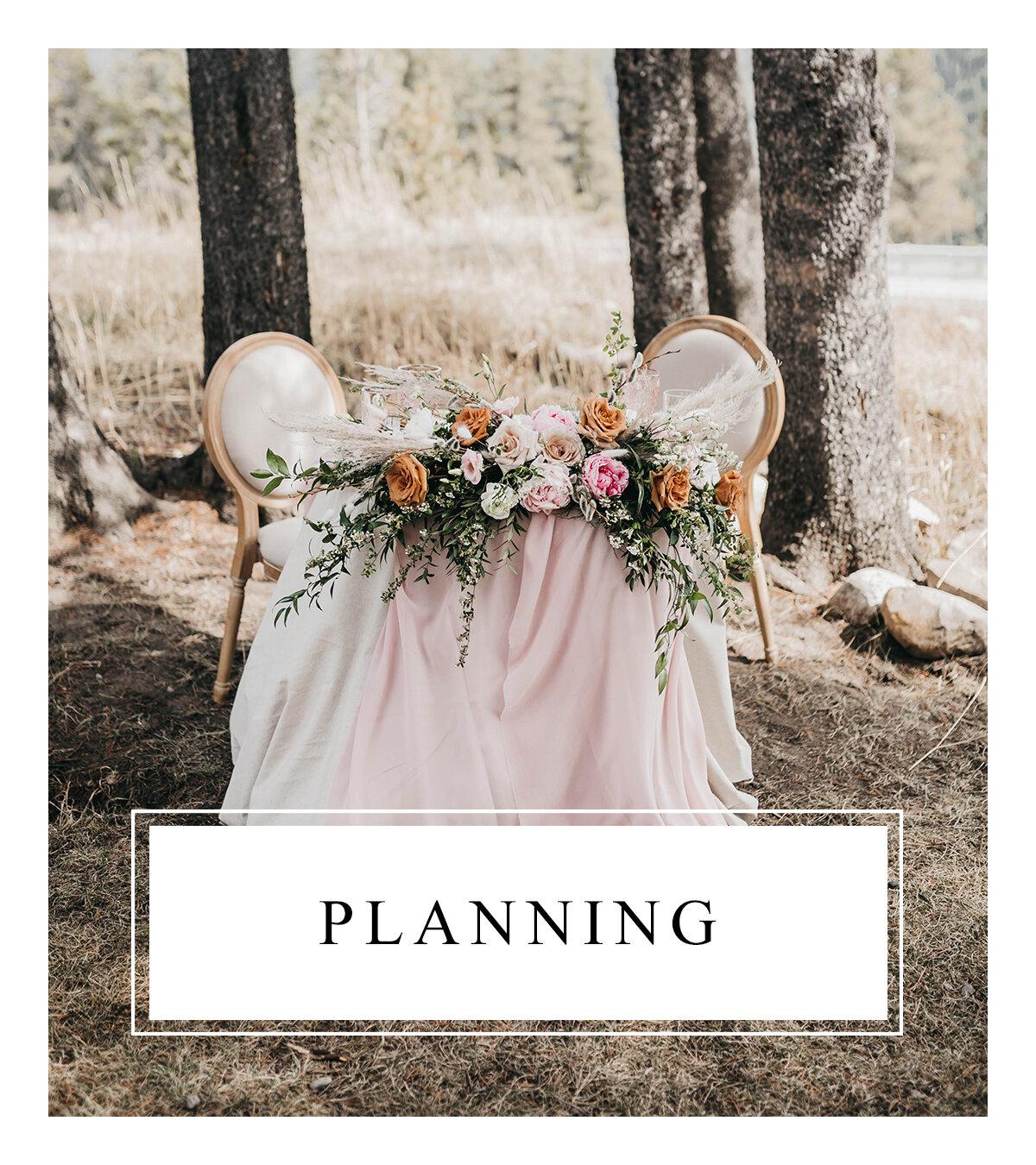 Bronte Bride - Alberta Wedding Vendor Guide - Planning