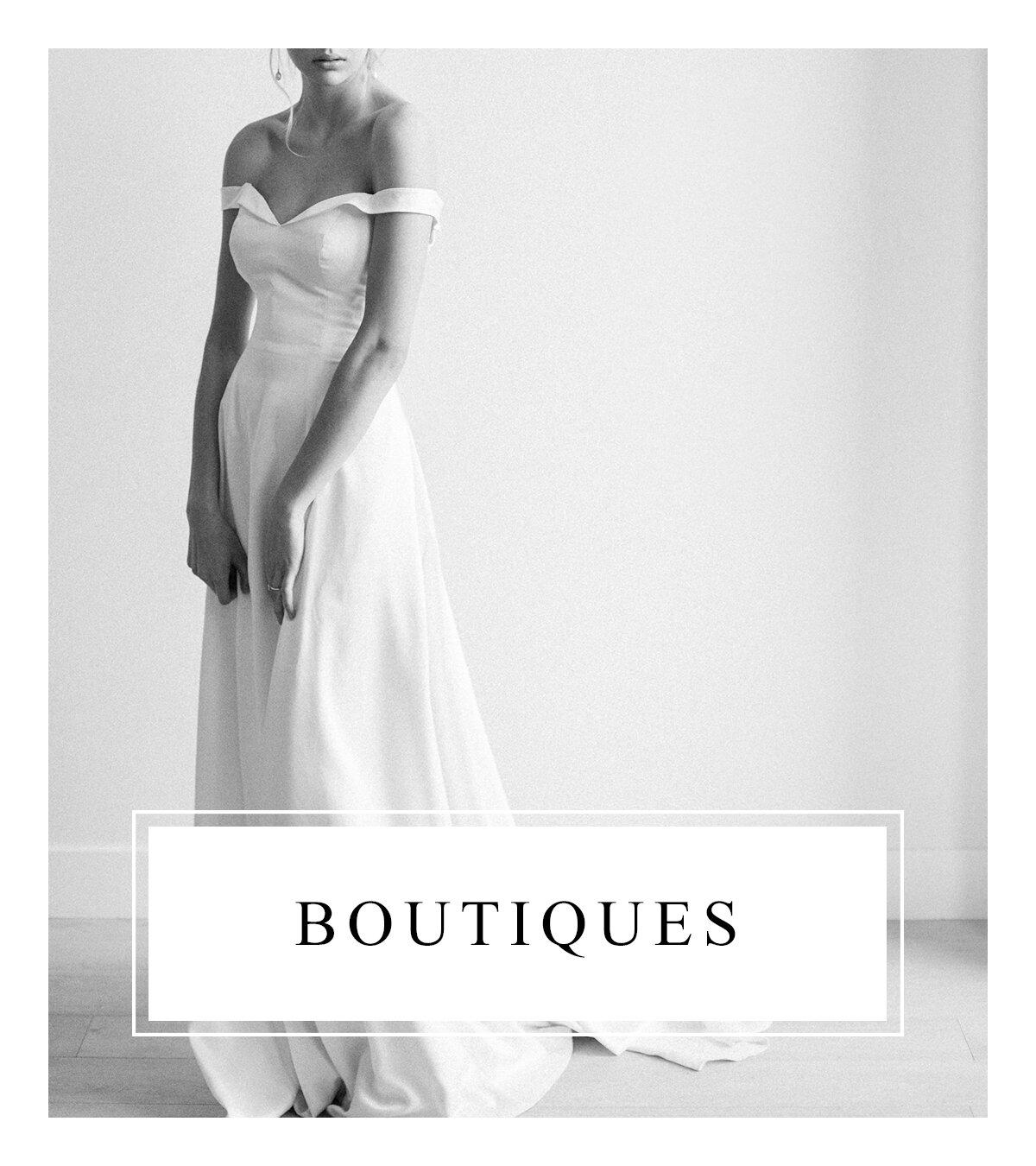 Bronte Bride - Alberta Wedding Vendor Guide - Boutiques