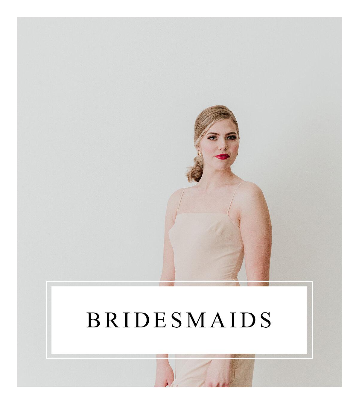Bronte Bride - Alberta Wedding Vendor Guide - Bridesmaids