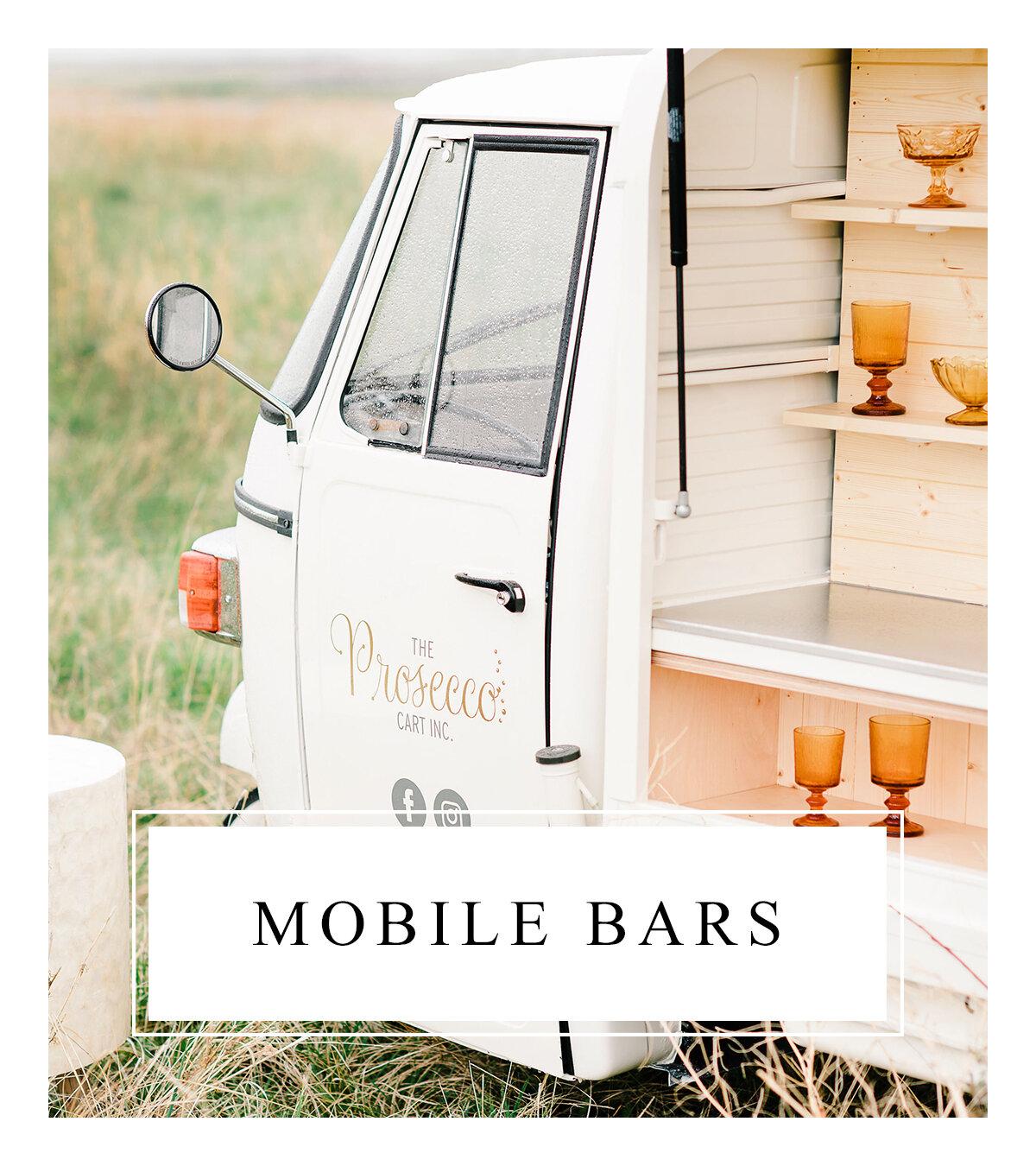Bronte Bride - Alberta Wedding Vendor Guide - Mobile Bars