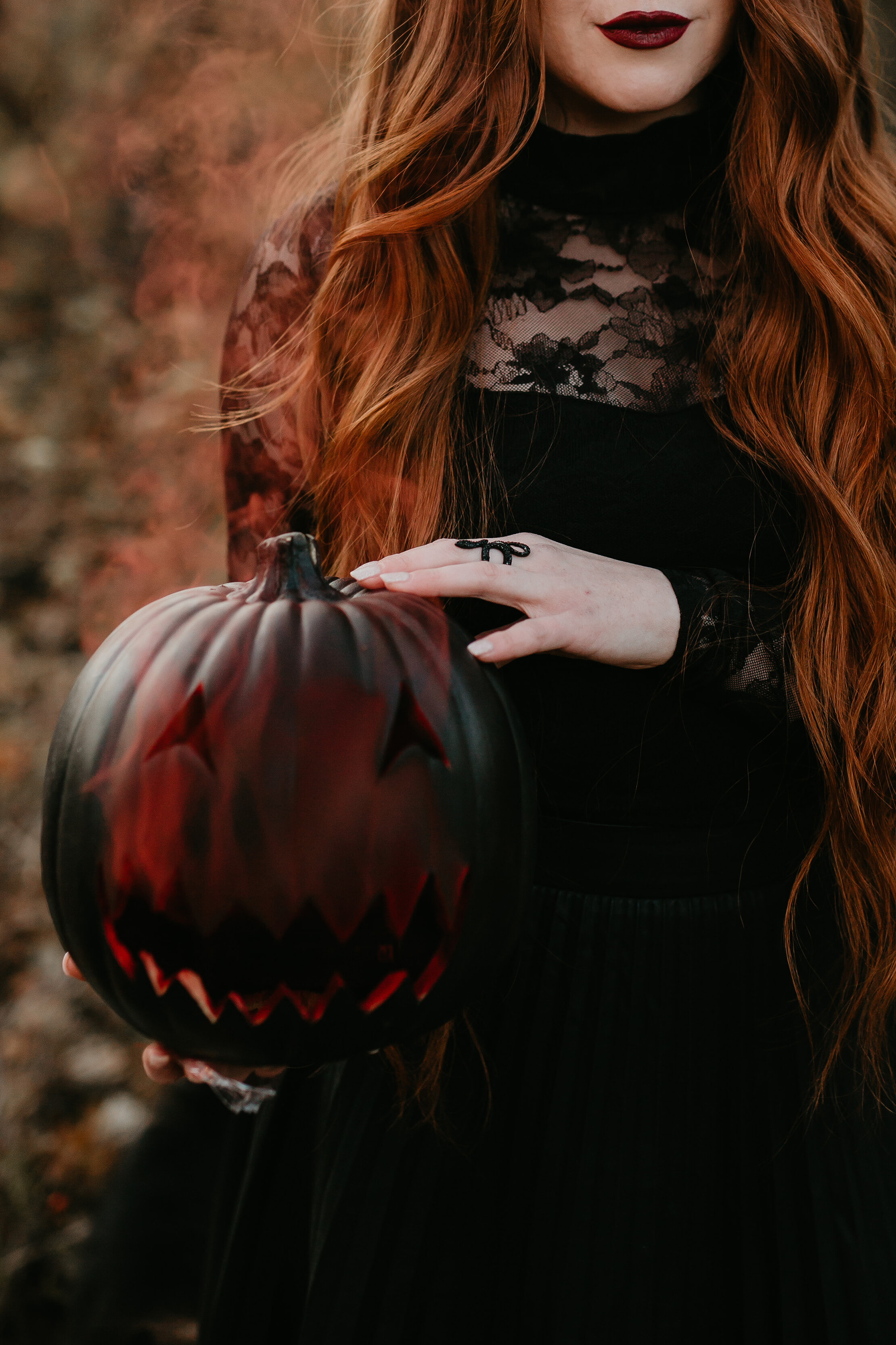 Ginger, Spice, & Everything Not Nice // Spooky Halloween Inspiration Shoot in Red Deer - on the Bronte Bride Blog