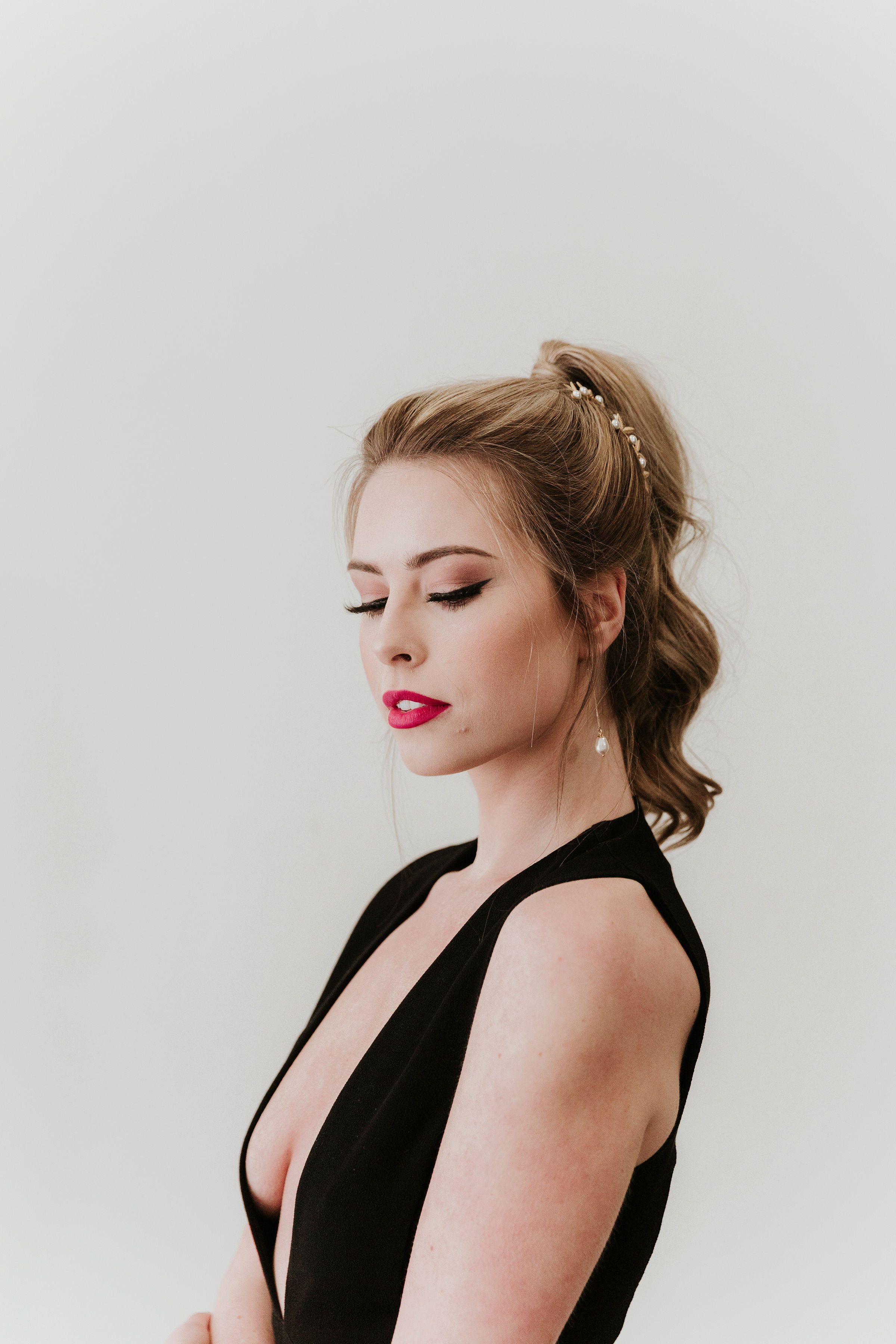 8 Glam Ponytail Hairstyles Every Bridesmaid Can Rock - on the Bronte Bride