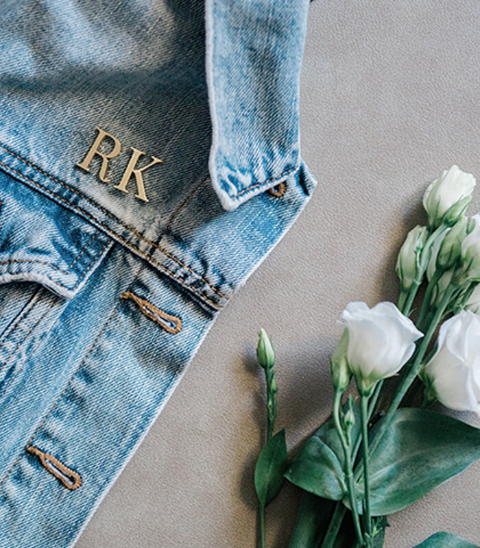 5 Ways To Use Lark & Ives' Monogram Pins in Your Wedding - on the Bronte Bride Blog