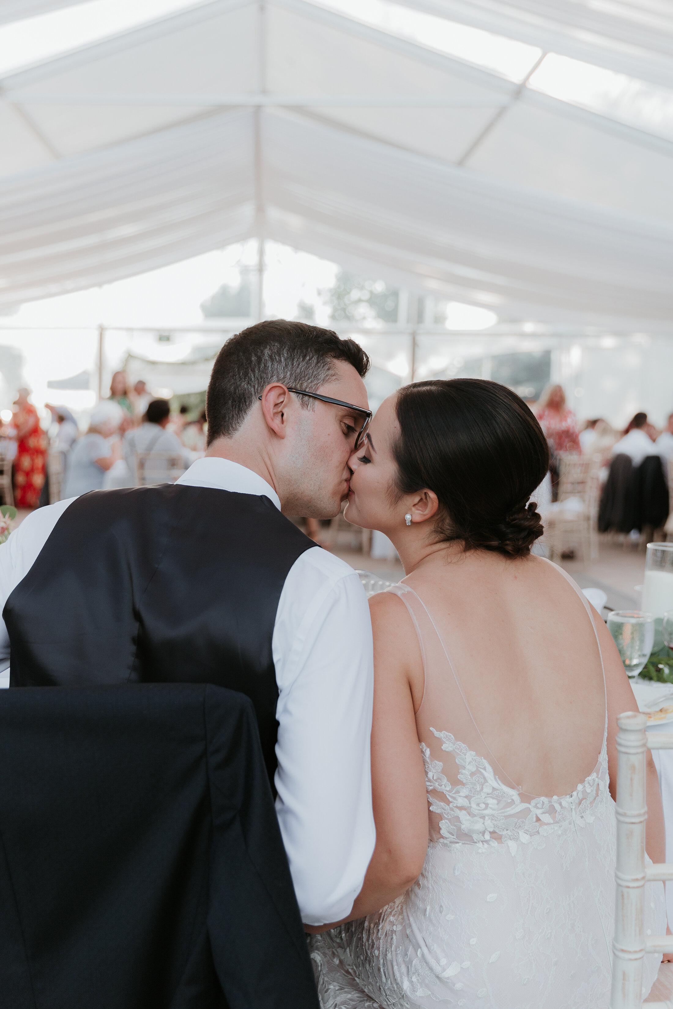 Wedding on a Hill // Ashleigh & Sean's Wedding at Hilltop Wedding Center - on the Bronte Bride Blog