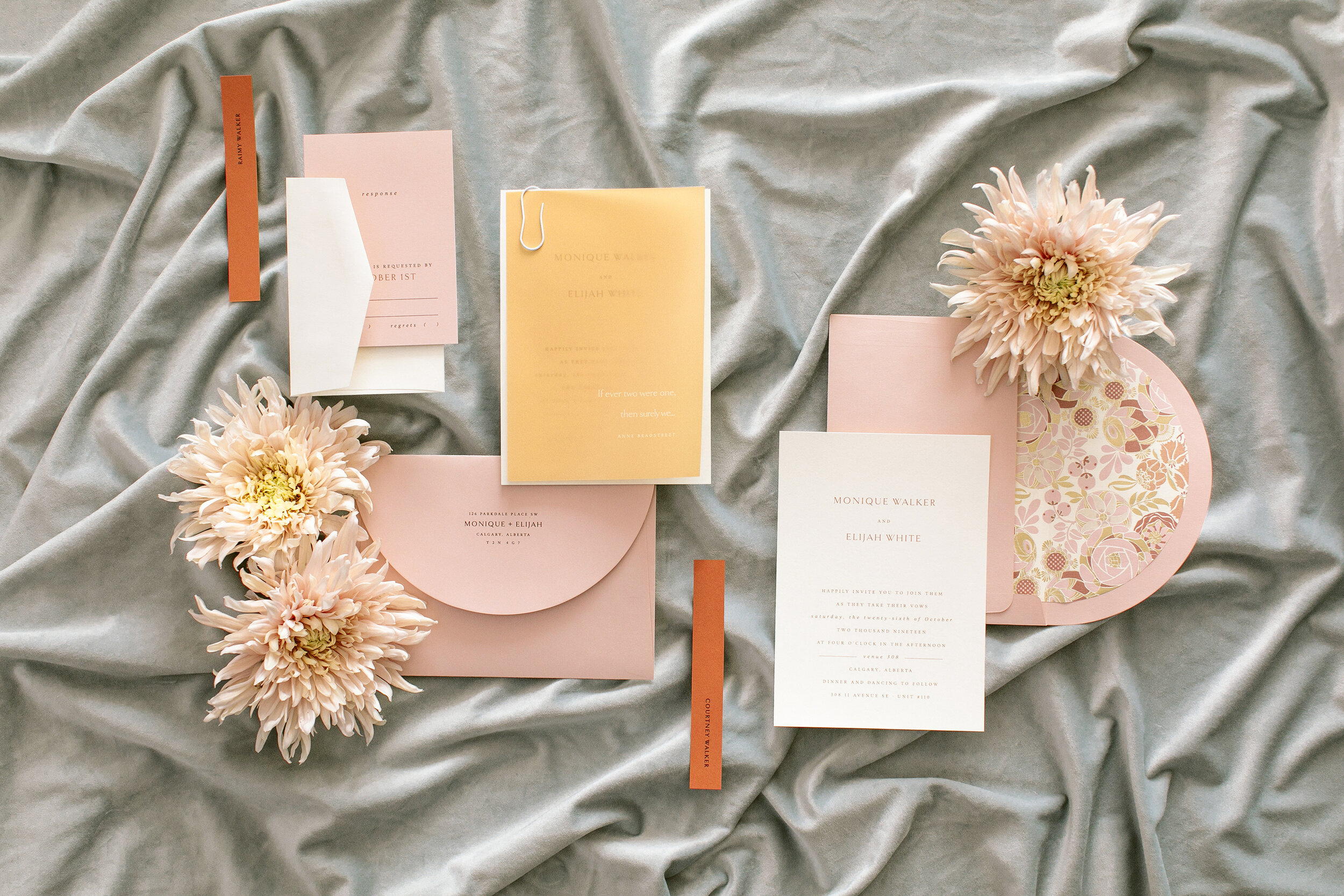 Wedding Stationery Inspiration - Venue308 Bronte Bride Blog Feature