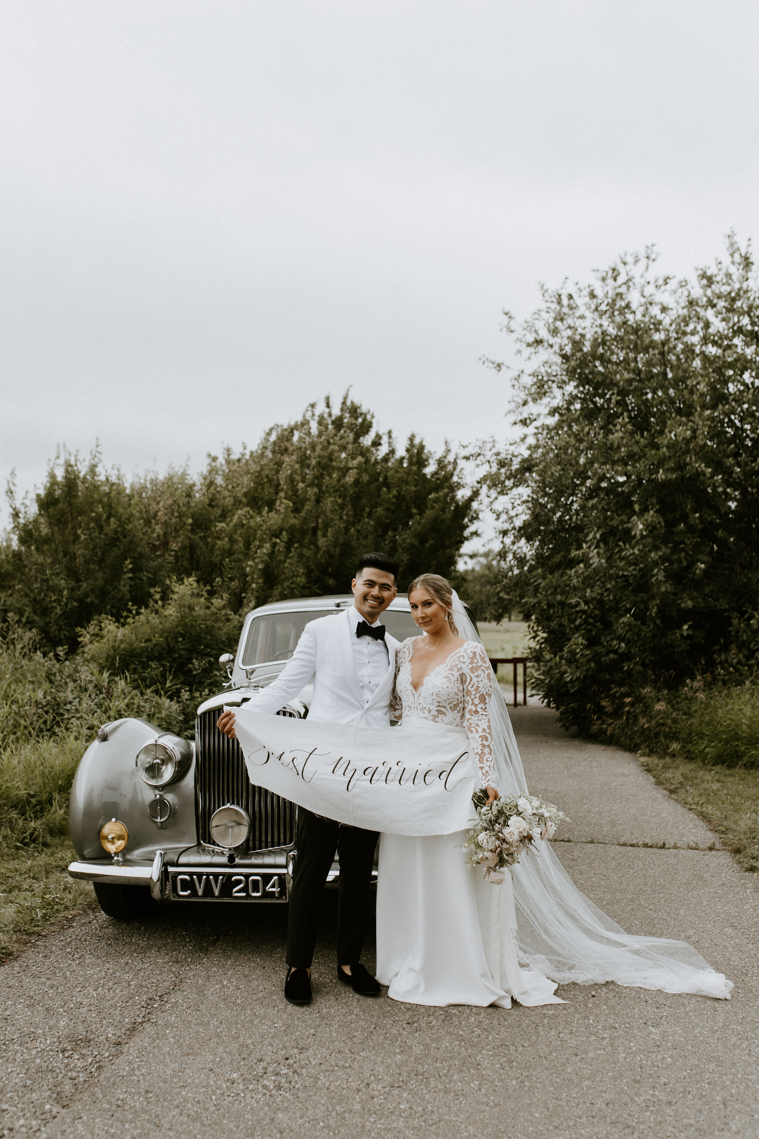 Bride and Groom - Wedding Style Inspiration - Just Married
