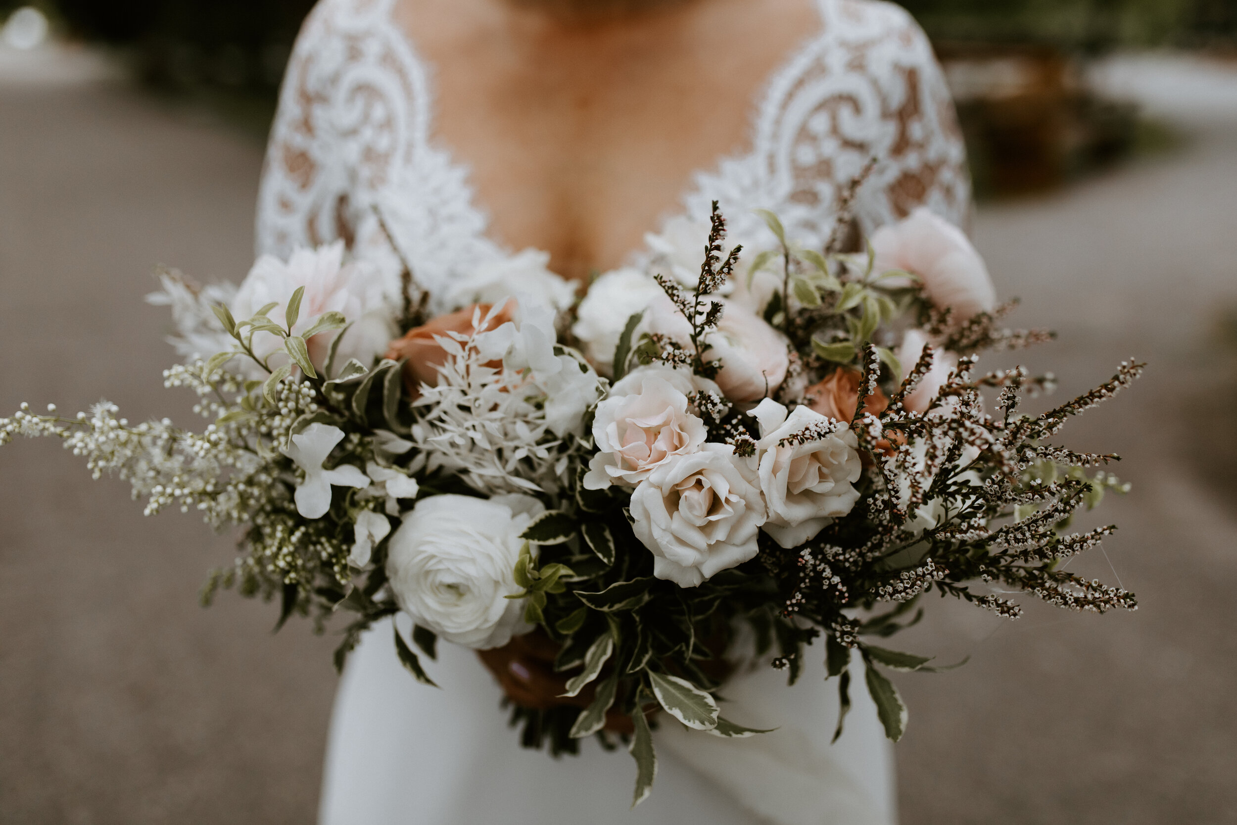 Bride and Groom - Wedding Style Inspiration - Bridal Bouquet