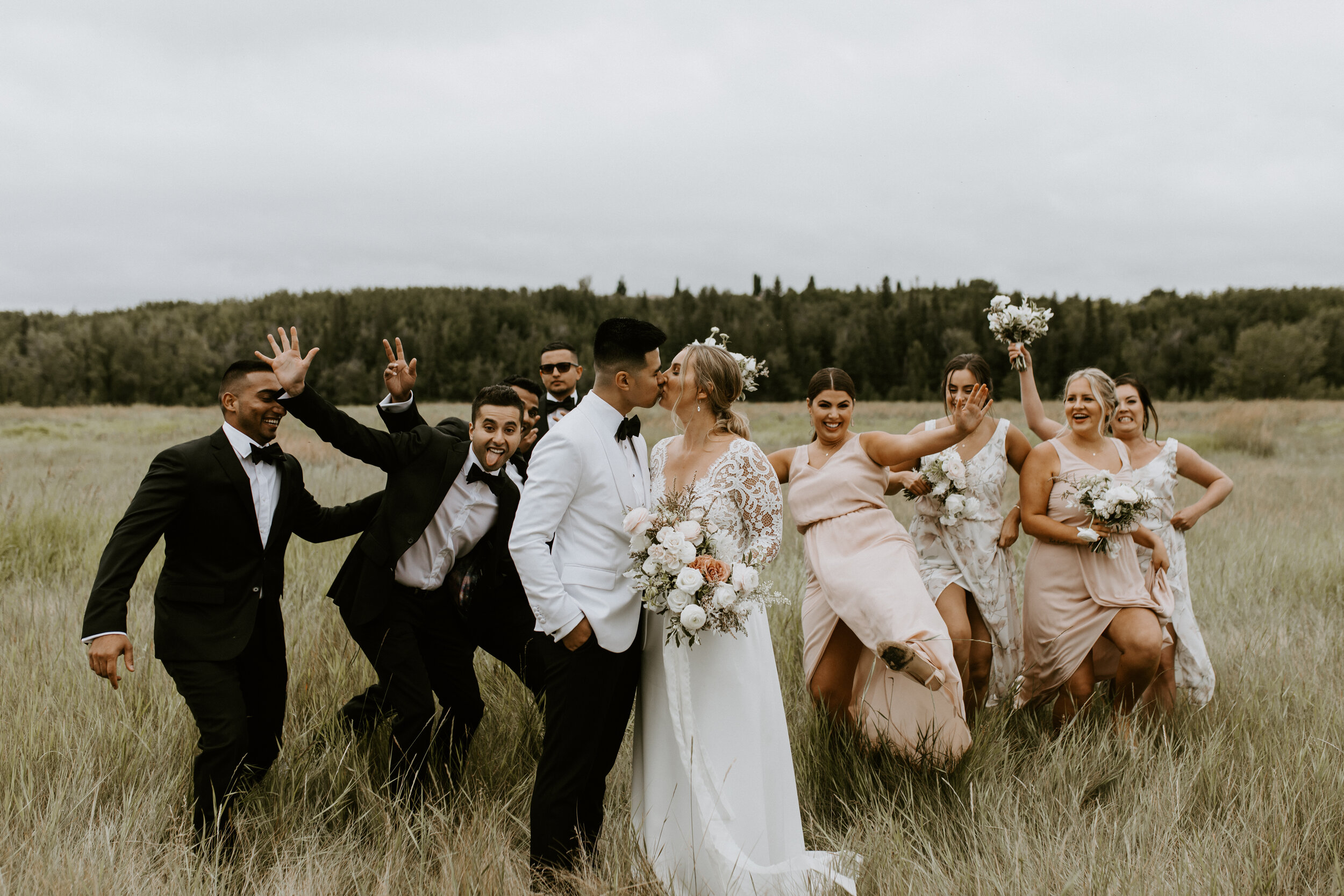 Bridal Party Wedding Style Inspiration