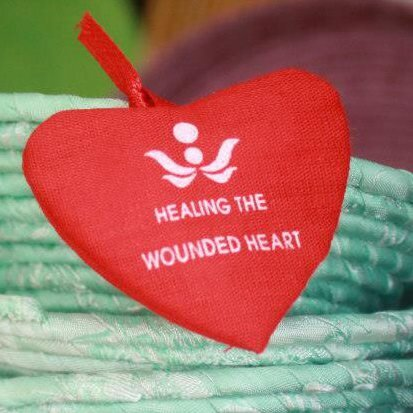 Healing the Wounded Heart logo and gift tag - it comes with every purchase!