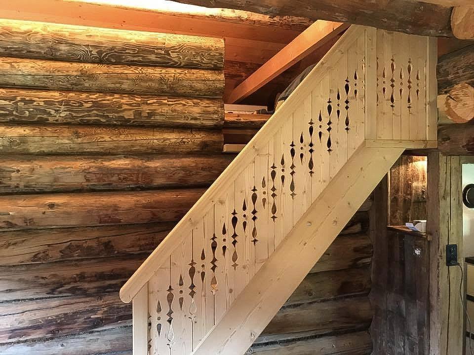 Treppe Fichtenholz