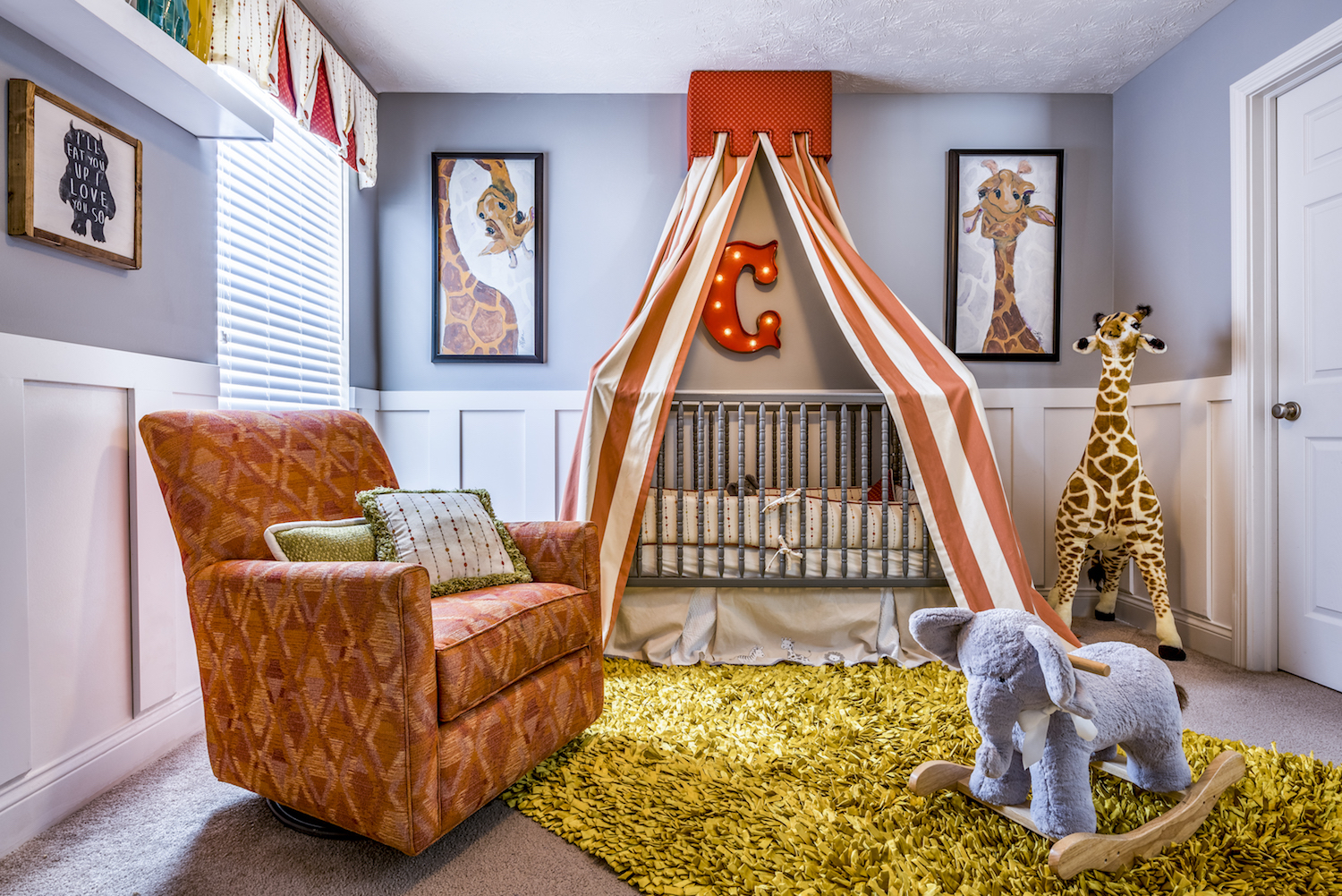 Architectural Interior, Residential Interior, Child's Bedroom