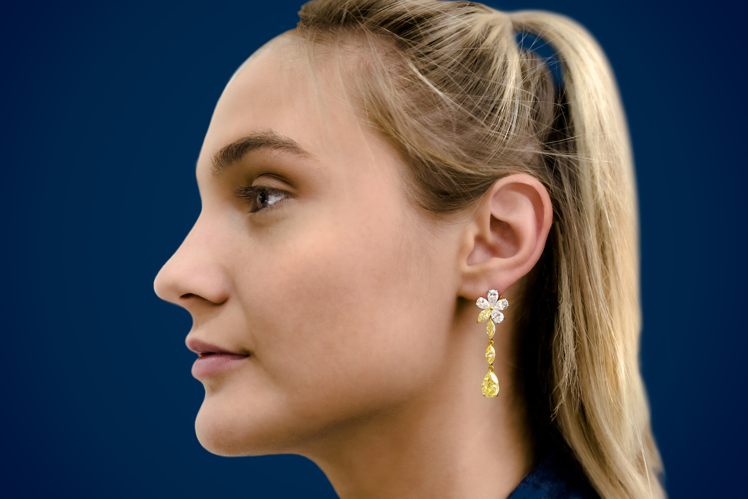 Commercial, Jewelry, Earring, Female Profile