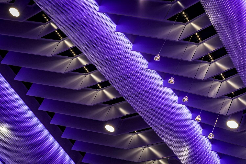 Commercial Interior, Ceiling Lighting, LED Lighting, Ballroom Lighting