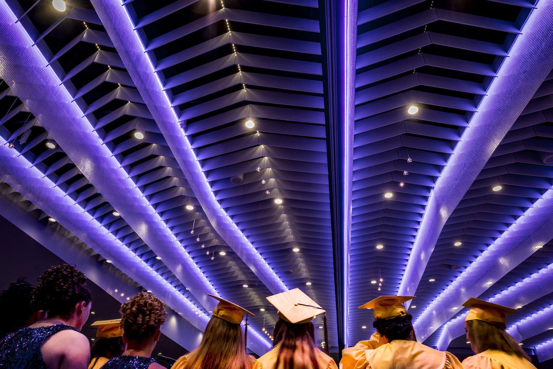 Architectural Interior, Commercial Interior, Ceiling Lighting, LED Lighting, Ballroom Lighting