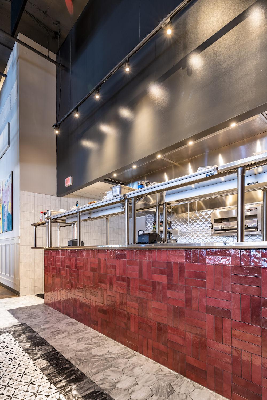 Architectural Interior, Commercial Interior, Serving Station, Bar, Restaurant