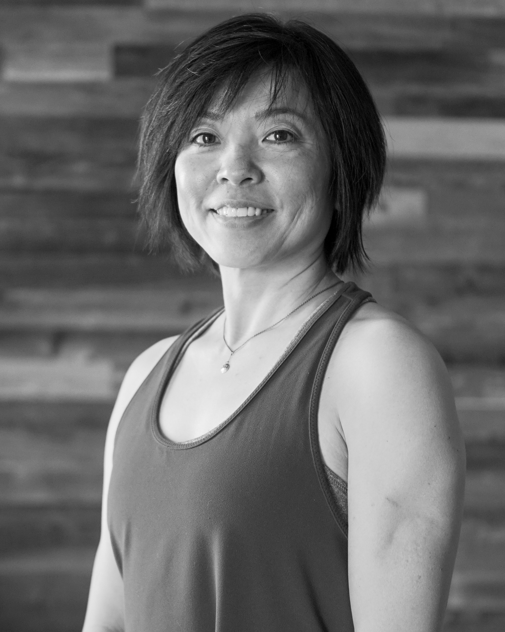 Mina Chong - Mina first started practicing yoga in 2005. She became a certified yoga instructor and has been teaching yoga since 2006. In her classes, you can expect creative, safe and effective exercises, and healing touch.Mina believes that anyone can practice yoga, and her classes are all about showing up, doing what you can, and enjoying healthy movement. Mina loves to share her time and be of service to others, she also loves to cook/bake, and enjoys the occasional binge watching shows on Netflix(it's all about balance).