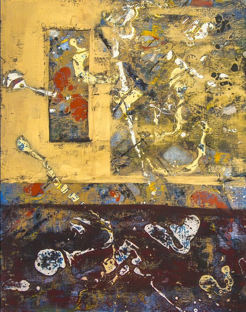 Bones (Sold) 16 x 20