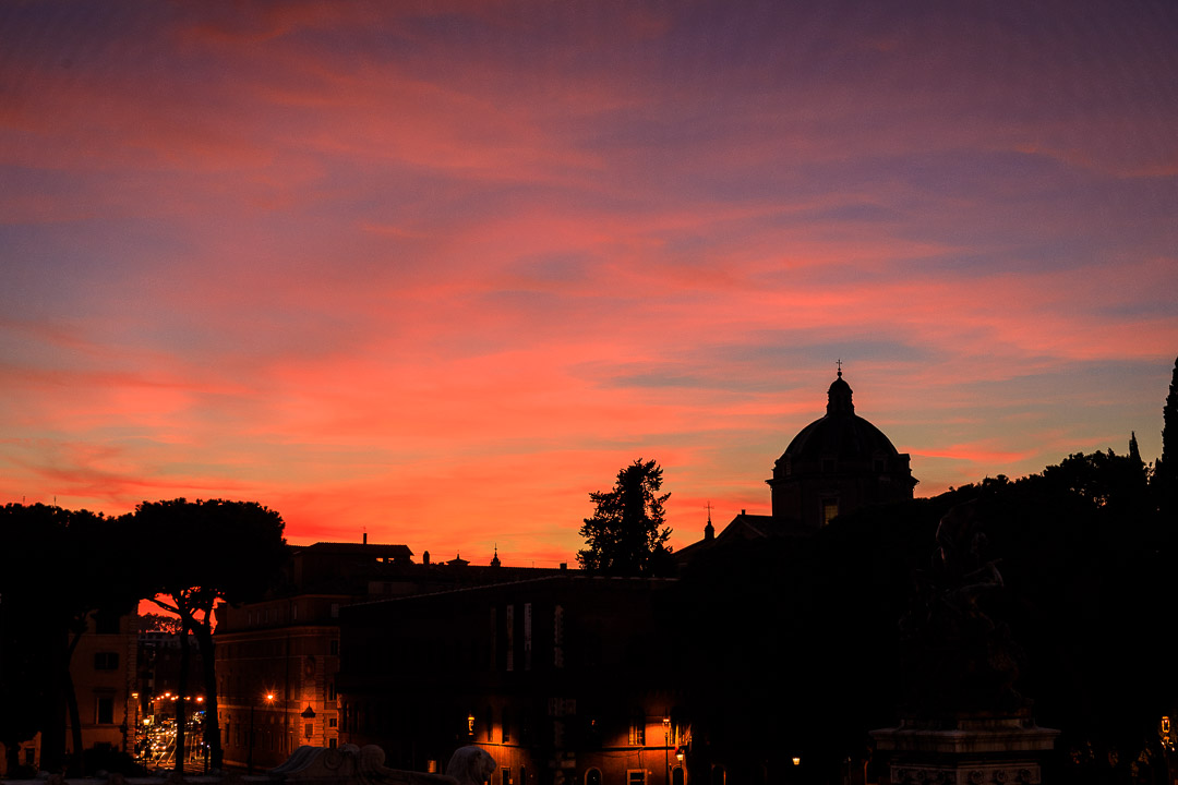 21-1786 Rome at Sunset