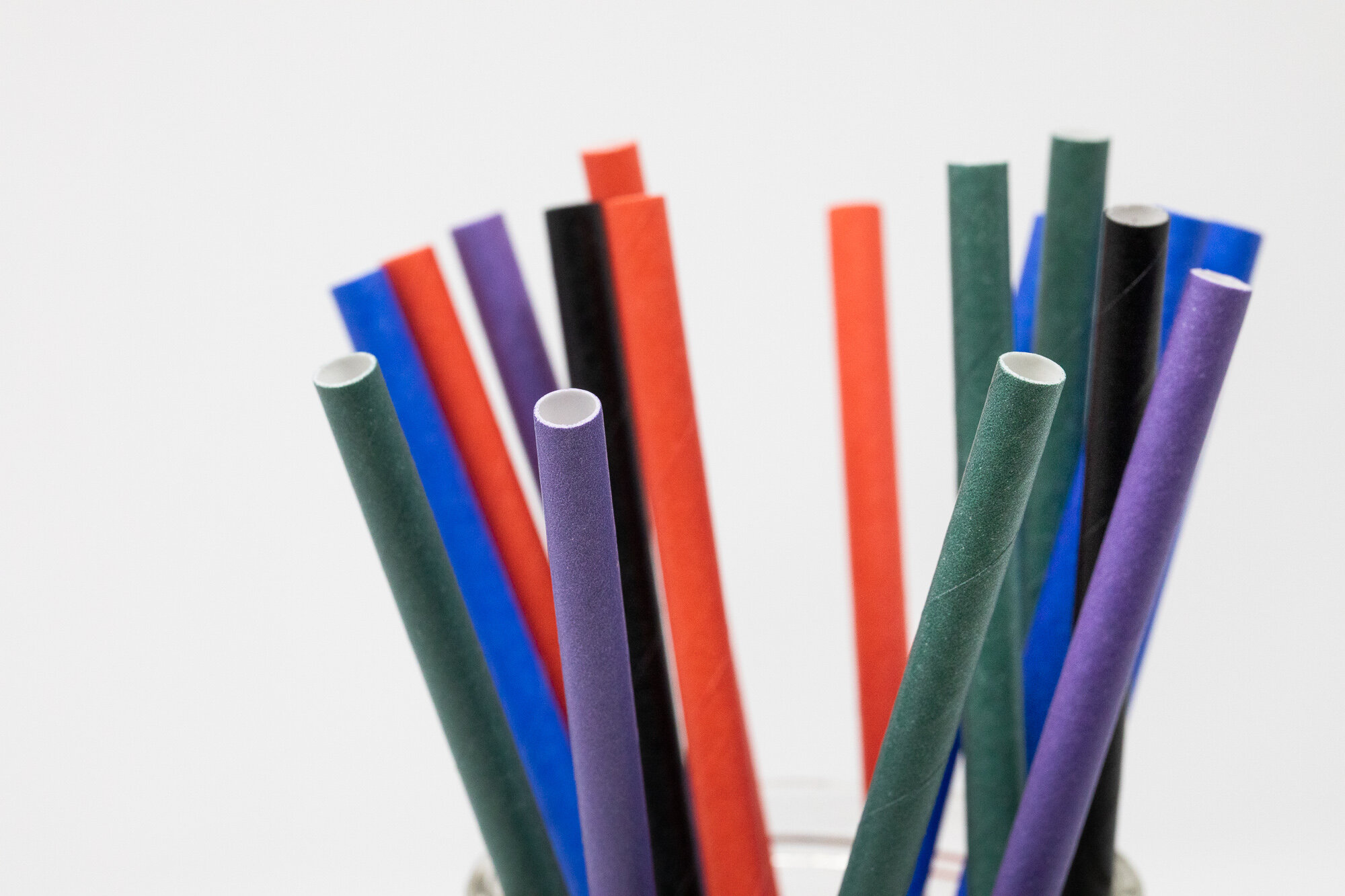 Paper Straws - Your sustainable long lasting alternative to plastic straws.