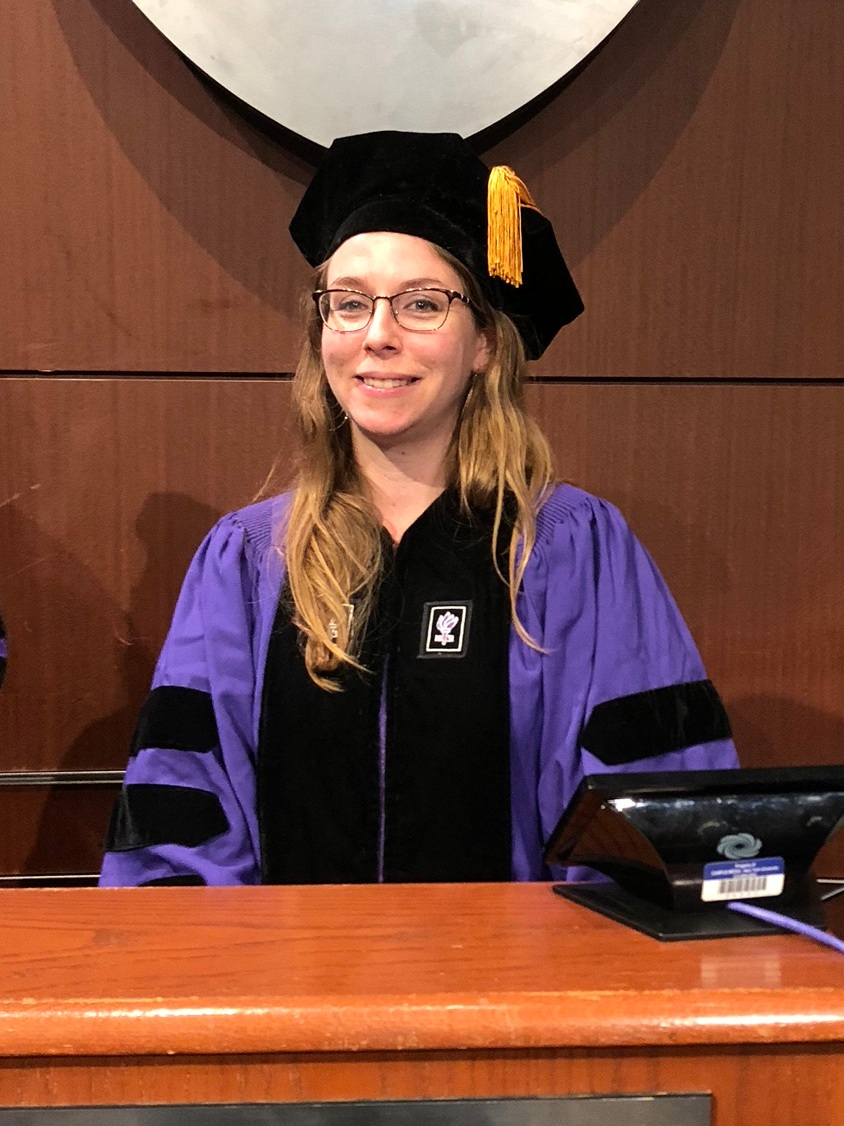 Dr. Amanda Ernlund, Commencement 2018