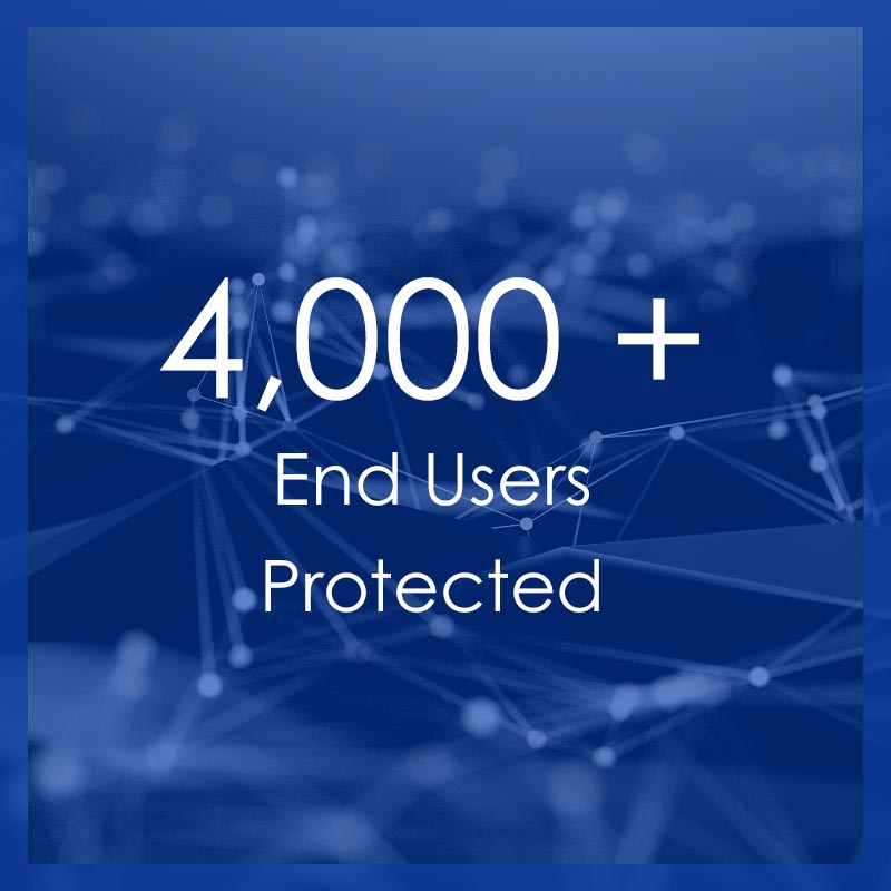 Technology By Design protects over 4,000 end users.