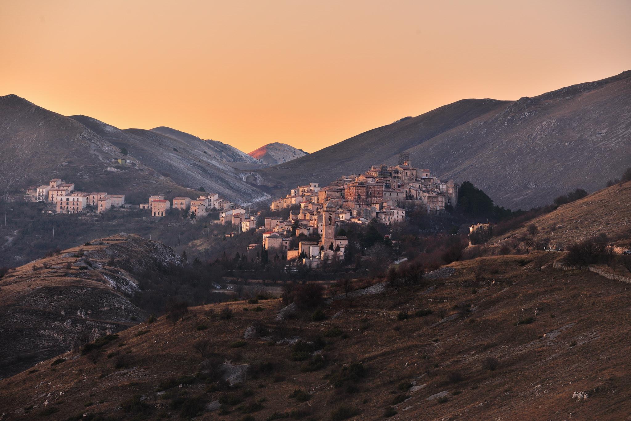 The Town of Santo Stefano di Sessanio