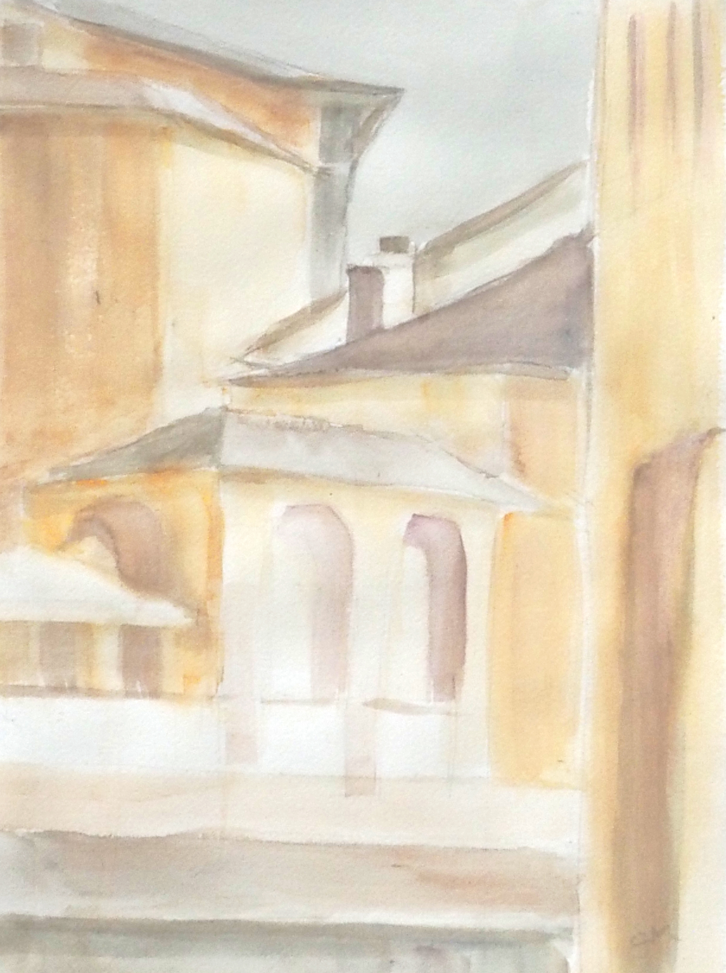 Cortona - Version 2, painted from the painting.