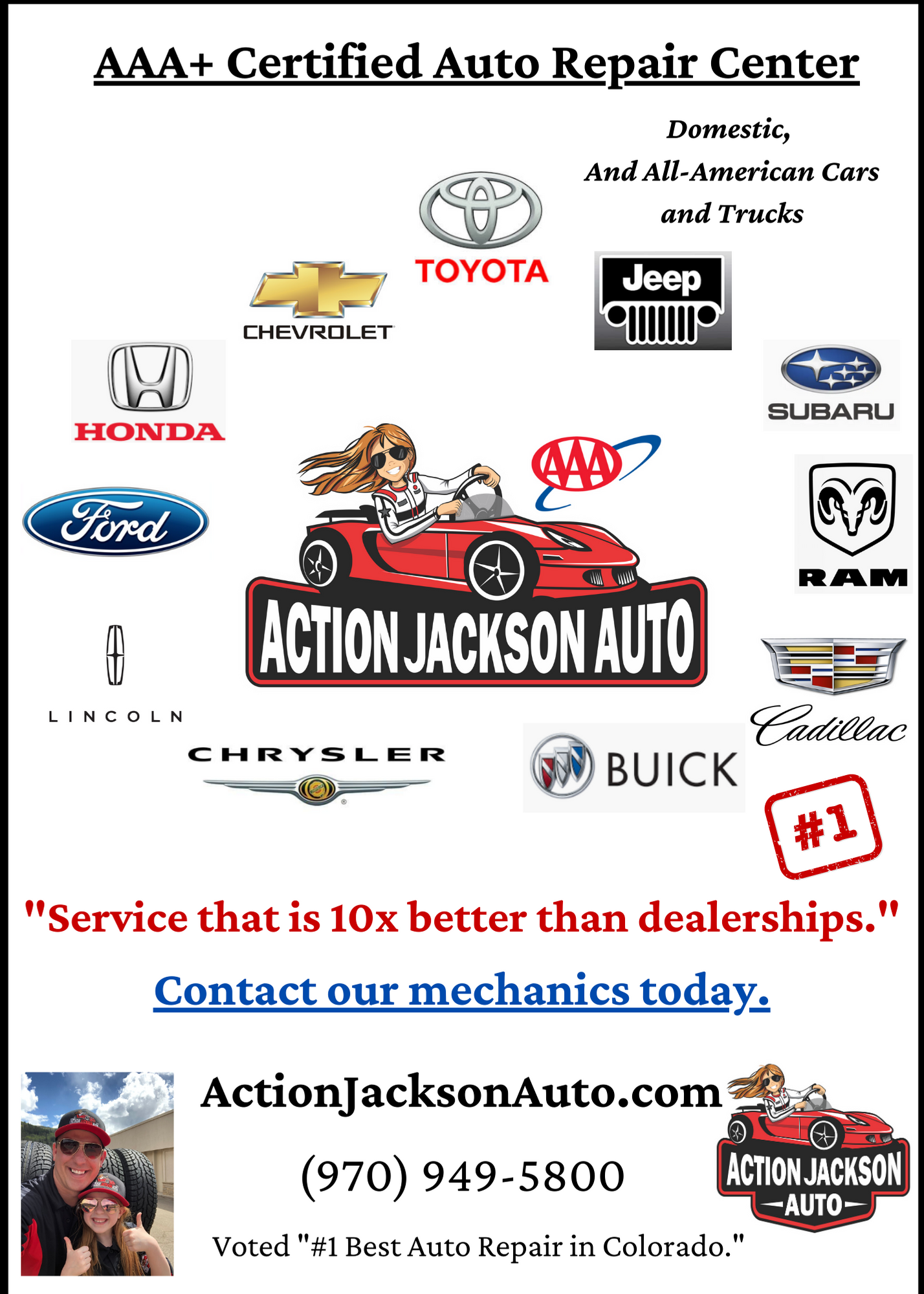 Your Local Auto Repair 1 Voted Experts Auto Repair Near You Action Jackson Auto