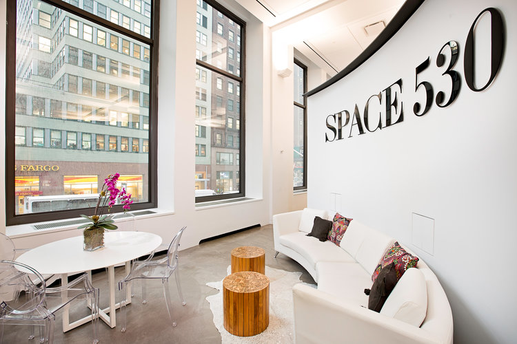 Co-Working - With two dedicated floors of co-working space, Space 530 offers sophisticated workspaces for entrepreneurs and executives in all stages of growth.