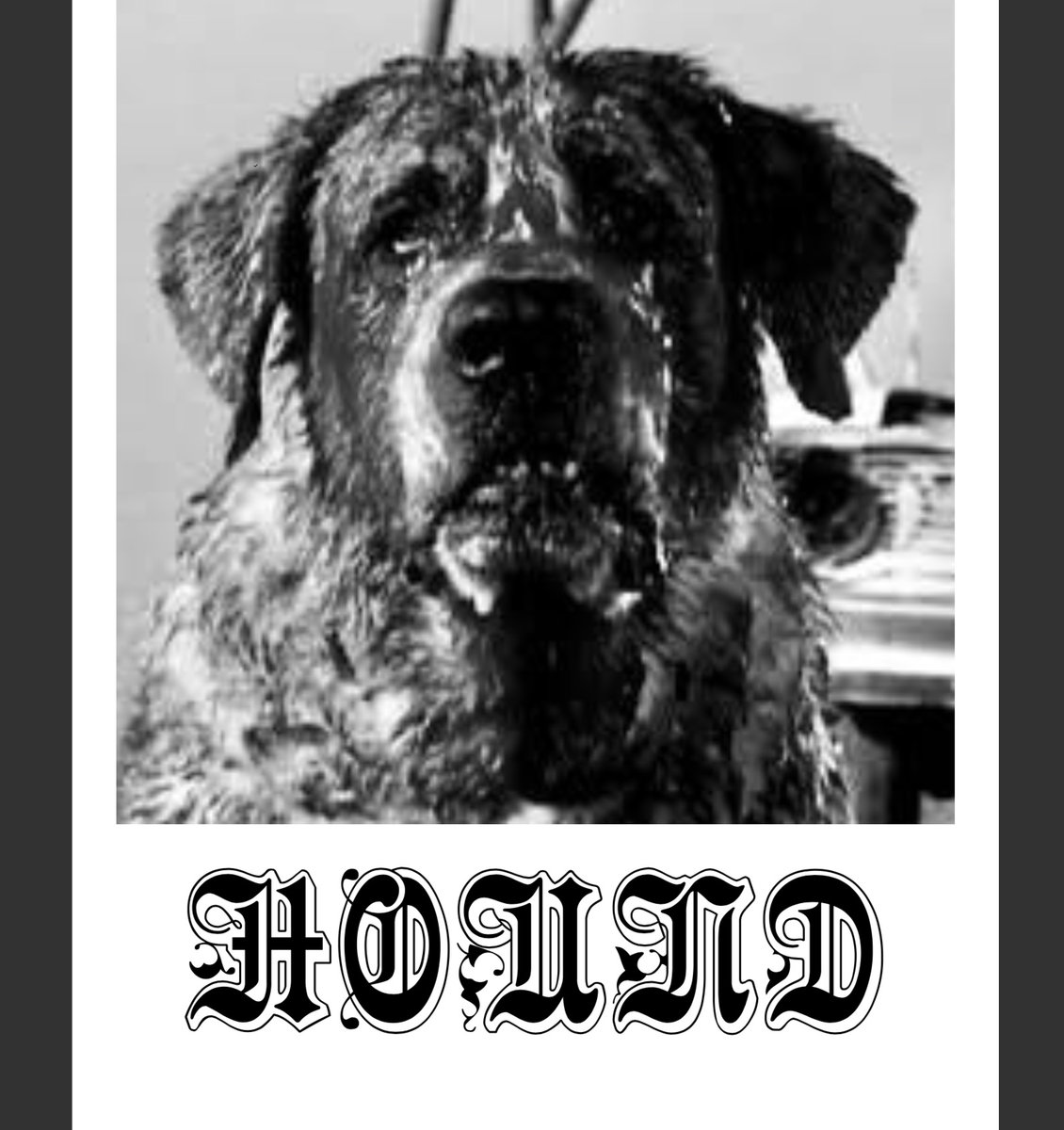 Hound - Chomping Glass SINGLE