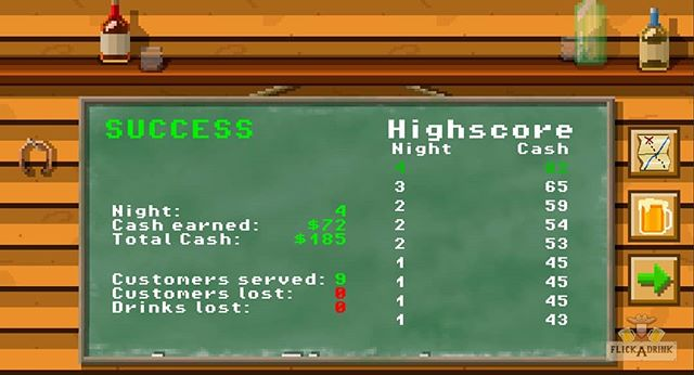 I just finished updating the saloon's scoreboard. I think it turned out great!  Test the dev version on Android. Link in bio!  #indiegames #gamedev #pixel #pixelart #ue4 #gameart #ui #western #saloon #bar #beer #mobilegame #playstore #gamedesign