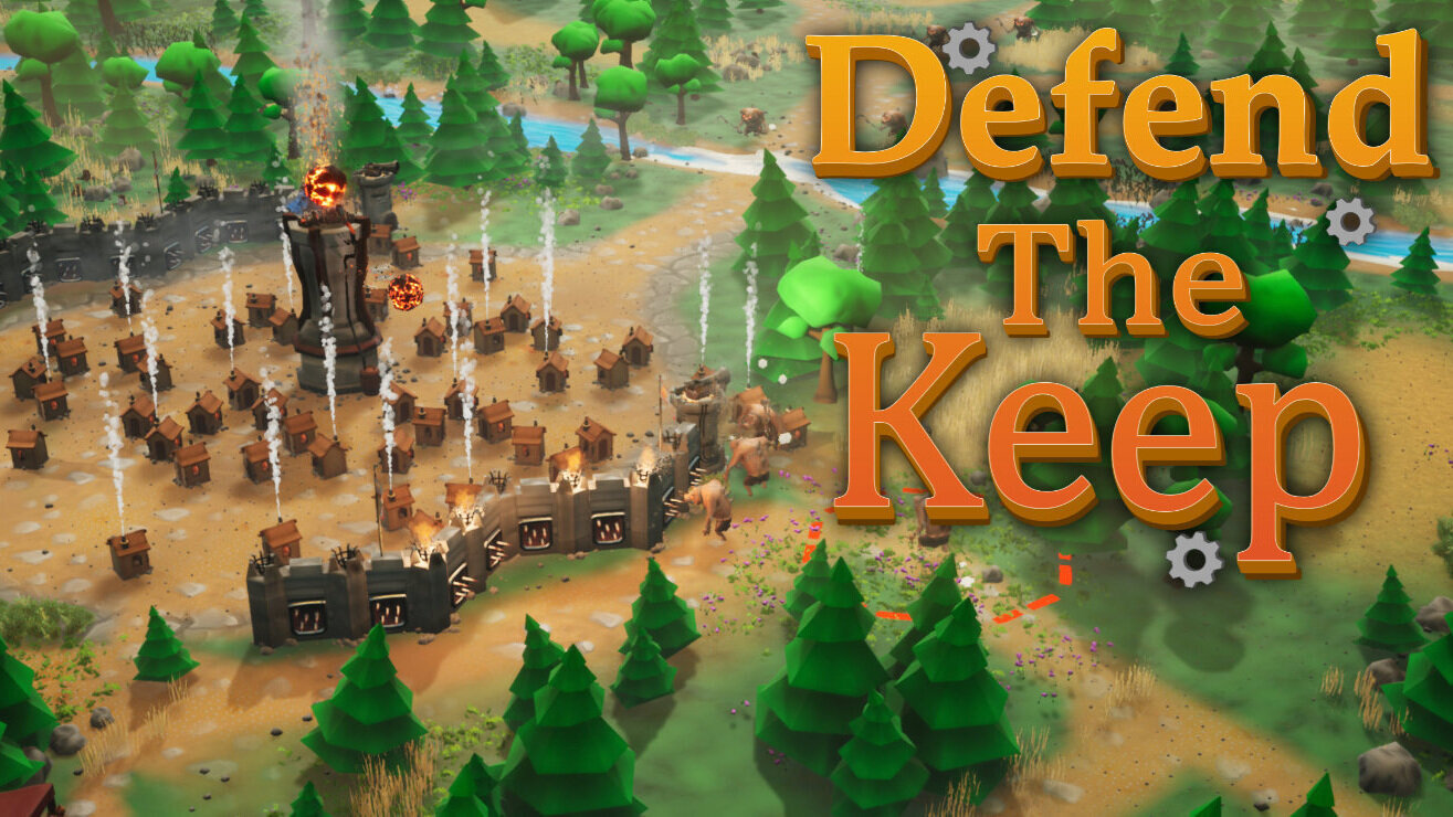 Defend The Keep - Buy Defend The Keep and start blasting hogs with fireballs!