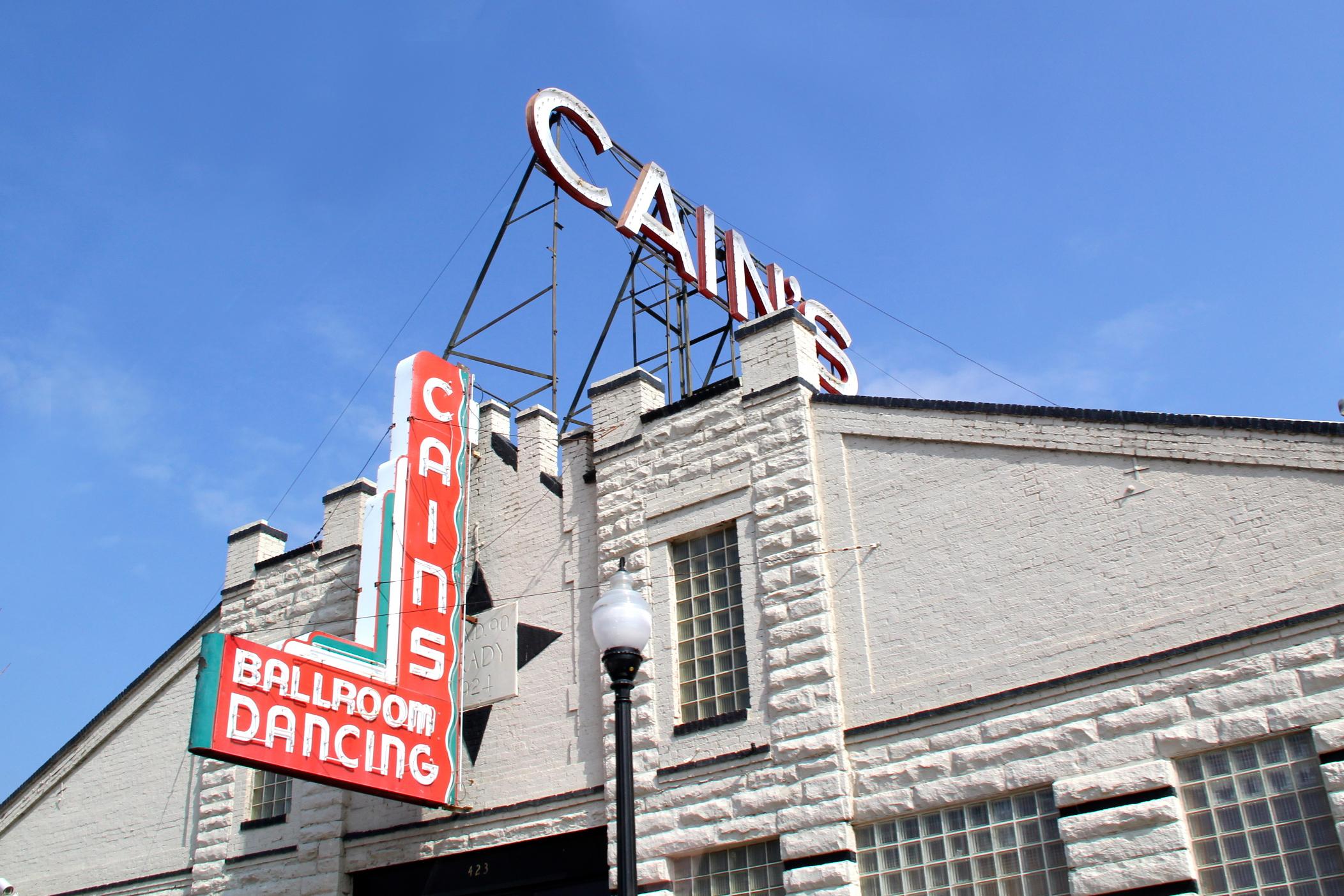 - Cain's Ballroom