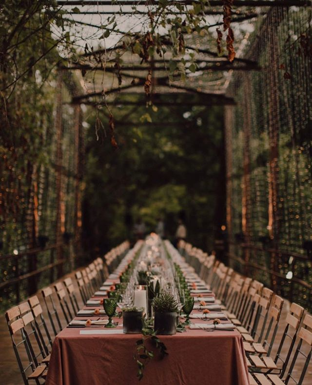 One year ago we got to be a part of this beautiful rehearsal dinner with @farthingevents where they transformed this old bridge into the most beautiful setting 💫Lighting: @omni_lighting, Florals: @eversomething, Photography: @codyandallisonphoto #oklovefest2018 #jtrcatering #rehearsaldinner #oklovefest #dinner #fallevents #catering #wedding #weddingcatering #tulsafoodie #tulsaok #farthingevents #tulsawedding