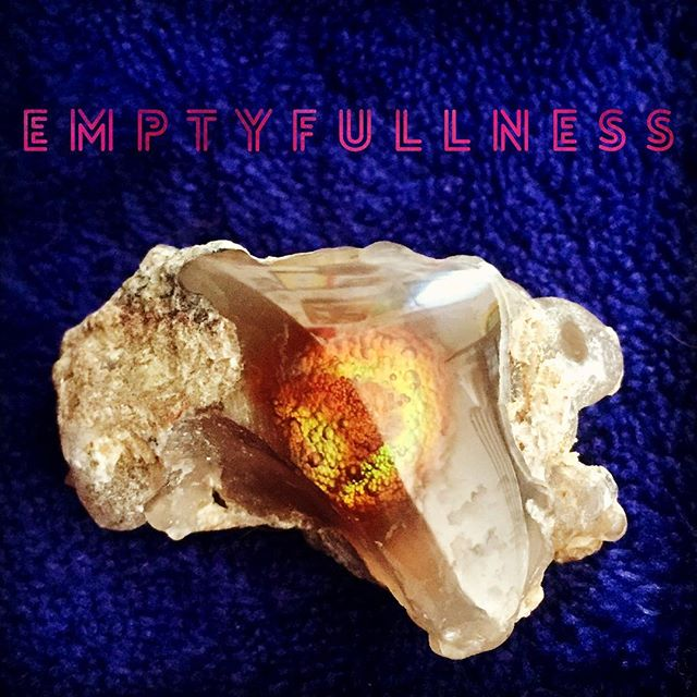 This appearance is both real and unreal. The infinite being finite. Timelessly. For no one. #emptyfullness #infinity #timelessness #nonduality #fireagate