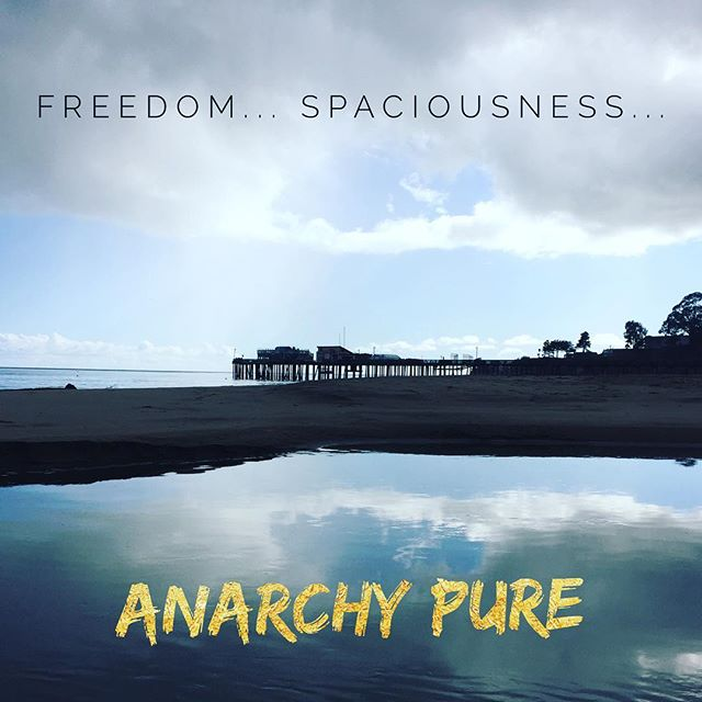 The natural reality is absolute anarchy.  The freedom which is longed for is all there is already.  #nonduality #freedom #spaciousness #anarchy #noauthority #noseparation #capitolavillage