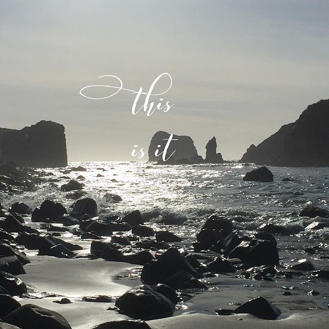 This is it  #nonduality #this #unknowing #bigsur